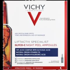 Vichy Liftactive CS Glyco-C Night Peel ampullit 2x10 kpl