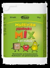 MULTIVITA JUNIORI MIX MONIVITAMIINI 30  PURUTABL