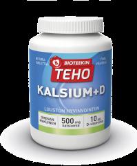 BIOTEEKIN TEHO KALSIUM+D X80 TABL