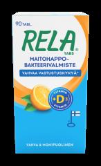 Rela Tabs UUSI Appelsiini + D3 90 tabl